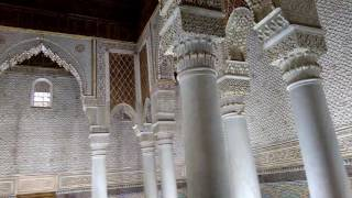 Saadian Tombs, Marrakech: 26/2/17