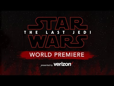 Live From The Red Carpet Of Star Wars: The Last Jedi