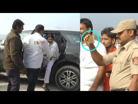 Exclusive: Rare And Unseen Video Of Pawan Kalyan | Janasenani Polavaram Visit | Distoday News
