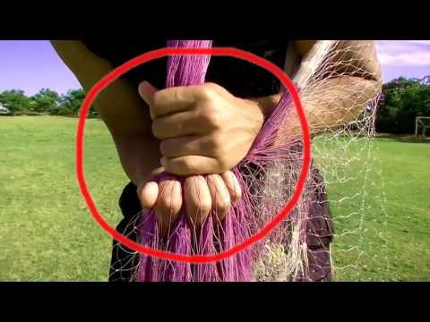 забрасываем кастинговую сеть с кольцом