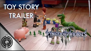 Kingdom Hearts III, Toy Story trailer revealed at Disney's D23, 2017 conference!  Never saw this coming, actually! We can't wait to explore this world!