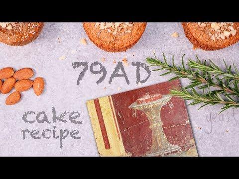 De 2000 jaar oude honingkoek uit Pompeii en hoe kun je dat maken
