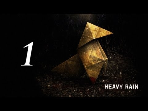 Heavy Rain Gameplay Walkthrough - Part 1 - I'M NOT READY TO BE A FATHER!