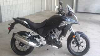 6. 2013 Honda CB500X SALE at Honda of Chattanooga / 2013 CB500X In Stock! Walkaround Video