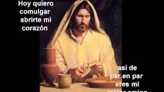 Jesus amigo con letra.wmv