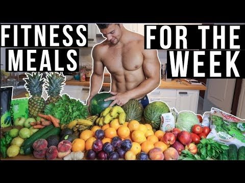 FITNESS MEALS FOR THE WEEK  PLANT BASED  JON VENUS