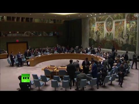 Экстренное заседание Совбеза ООН — LIVЕ - DomaVideo.Ru