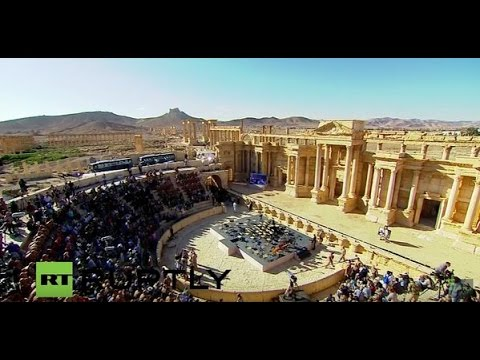 'Pray for Palmyra' concert conducted by Gergiev goes ahead in Palmyra