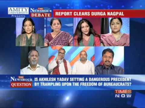 newshour - In a debate moderated by TIMES NOW's Editor-in-Chief Arnab Goswami, panelists -- Nirmala Seetharaman, National Spokesperson, BJP; Nawab Kazim Ali Khan, Congr...