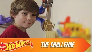 Hot Wheels Wall Tracks: The Challenge