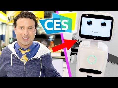 Top CES 2018 Tech (EXCLUSIVE FOOTAGE!) (видео)