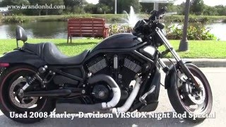 1. Used 2008 Harley Davidson VRSCDX Night Rod Special