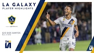 Check out highlights from Giovani dos Santos' 2016 season with the LA Galaxy. Want to see more from the LA Galaxy? Subscribe ...