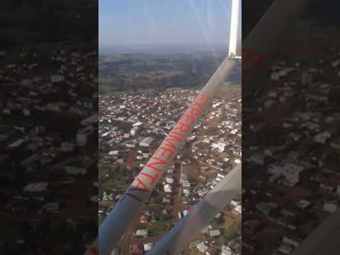 Sobrevoando ipora do oeste santa Catarina