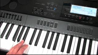 Casio CTK-7000&WK-7500 Pattern Sequencing Tutorial