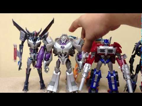 megatron - A look at the Deluxe class Megatron from the Transformers Prime Entertainment Pack! Be sure to check out TFsource for ALL of your TF needs! http://www.tfsour...