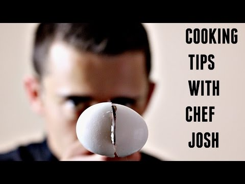 How To Seperate Egg Yolks & Whites  Cooking Tip With Chef Josh
