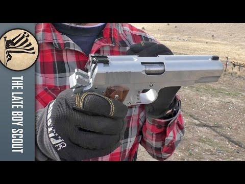 Shooting the Double Barrel 1911 (AF2011A1) from Arsenal Firearms