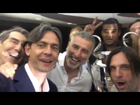 """Pippo Inzaghi nostalgia: """"Paolo, alza la Champions!"""""""