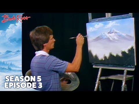 Bob Ross - Mountain Blossoms (Season 5 Episode 3)