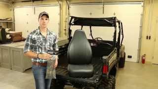 9. John Deere High Performance Bucket Seat Covers