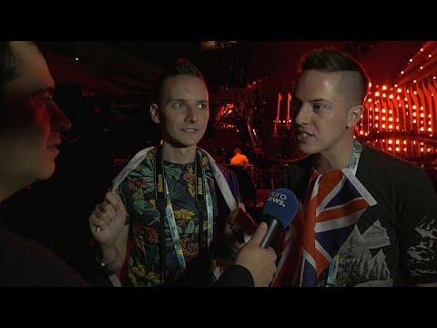 Spannung vor dem Eurovision Song Contest