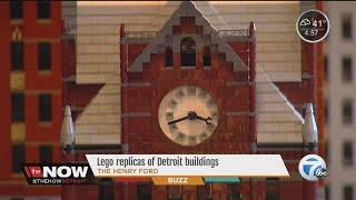 Local landmarks get Lego'd by Michigan Lego Builders at The Henry Ford