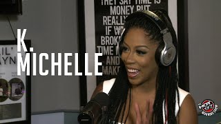 K Michelle addresses Elle Varner, Meek Mill + names her vagina!