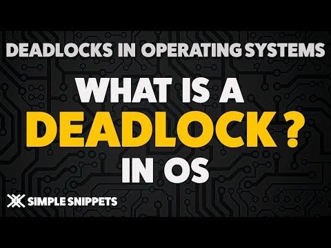 Deadlock in Operating System   4 Conditions of Deadlocks   Deadlock Handling - Process Management