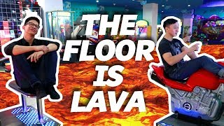 Video THE FLOOR IS LAVA CHALLENGE Ft Brandon Kent! MP3, 3GP, MP4, WEBM, AVI, FLV Mei 2019