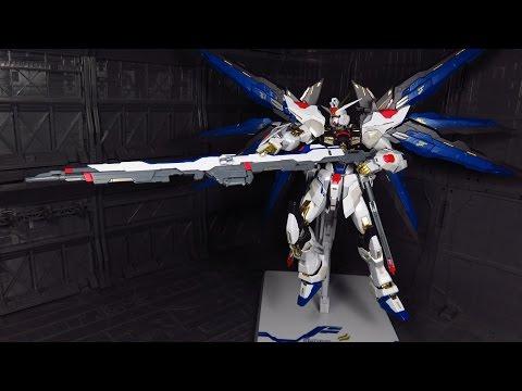 Metal Build Strike Freedom Gundam Figure Review
