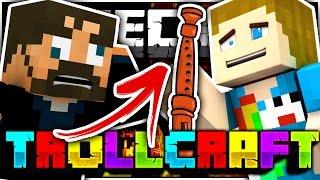 Minecraft   ANNOYING FLUTE TROLL!! - Troll Craft