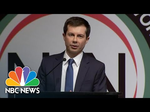 Pete Buttigieg Says 'Black Lives Matter' When Speaking On Racial Injustice | NBC News