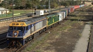 Wallendbeen Australia  city photos gallery : Main Southern Railway - New South Wales: Australian Trains
