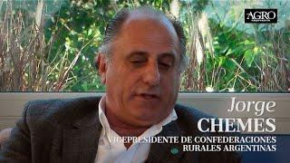 Jorge Chemes - Vicepresidente de Confederaciones Rurales Argentinas