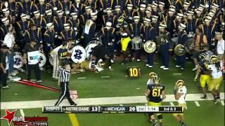 Devin Gardner vs Notre Dame (2013)