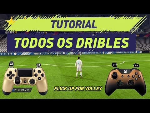 FIFA 18 | ALL SKILLS FIFA 18 TUTORIAL | TUTORIAL TODOS DRIBLES | PS4 & XBOX