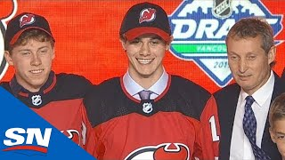 New Jersey Devils Select Jack Hughes First Overall In The 2019 NHL Draft by Sportsnet Canada