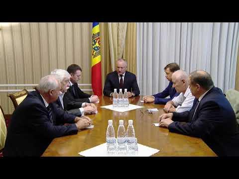 Президент Республики Молдова провел встречу с бывшими председателями Конституционного суда