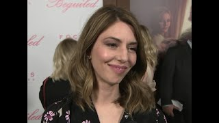 """""""The Beguiled"""" director Sofia Coppola expresses her surprise at being named Best Director at the recent Cannes Film Festival,..."""