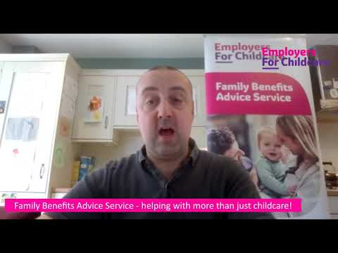 Family Benefits Advice Service helps with more than just childcare
