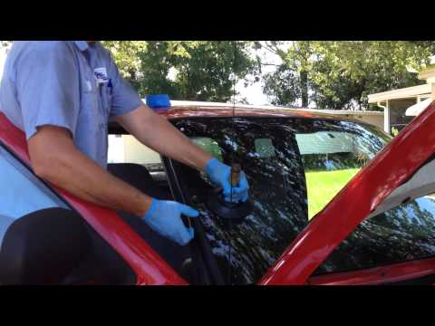 How to install windshield on a 2000 Dodge Ram with the Rolladeck