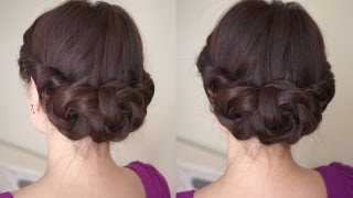 Video Spring Braided Flower Hair Tutorial MP3, 3GP, MP4, WEBM, AVI, FLV Oktober 2018