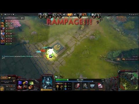 Phantom Assassin (R1) RAMPAGE