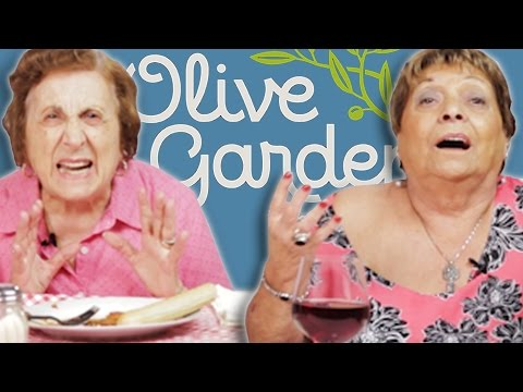 WATCH Italian Grandmas Try Olive Garden For The First Time