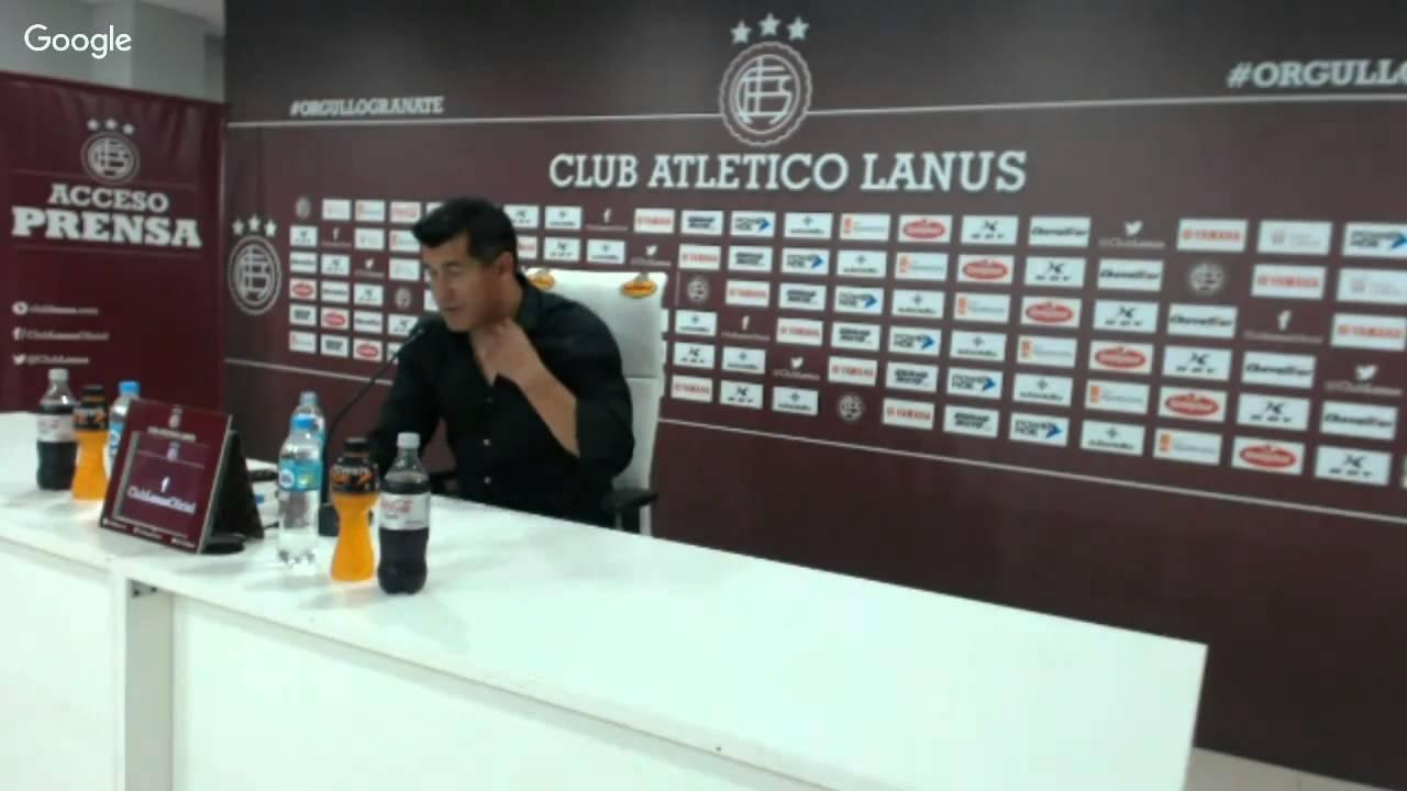 """Almirón: """"Contento por el rendimiento del equipo"""""""