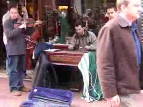 east european music - on irish streets.