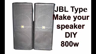 JBL copy speaker (DIY)