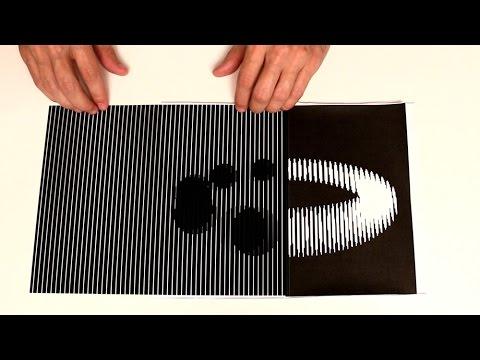 Illusioni ottiche con due fogli di carta