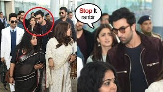 Video Ranbir Kapoor FIGHTS With Gf Alia Bhatt in Front of Ranveer Singh & Other Celebs At Delhi Airport MP3, 3GP, MP4, WEBM, AVI, FLV Januari 2019